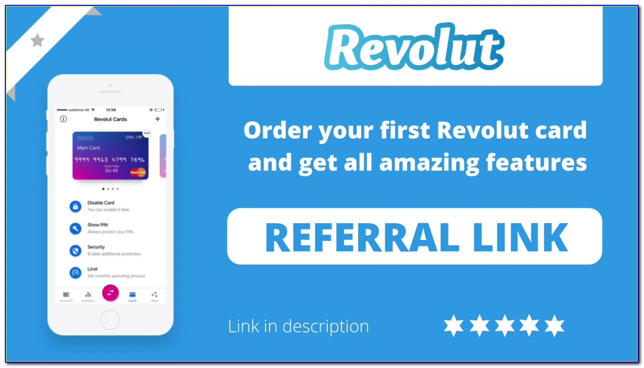 Revolut Free Card For Friends