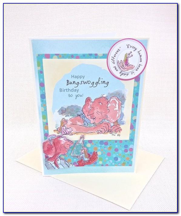 Roald Dahl Greeting Cards