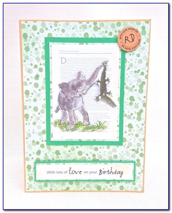 Roald Dahl Matilda Birthday Card
