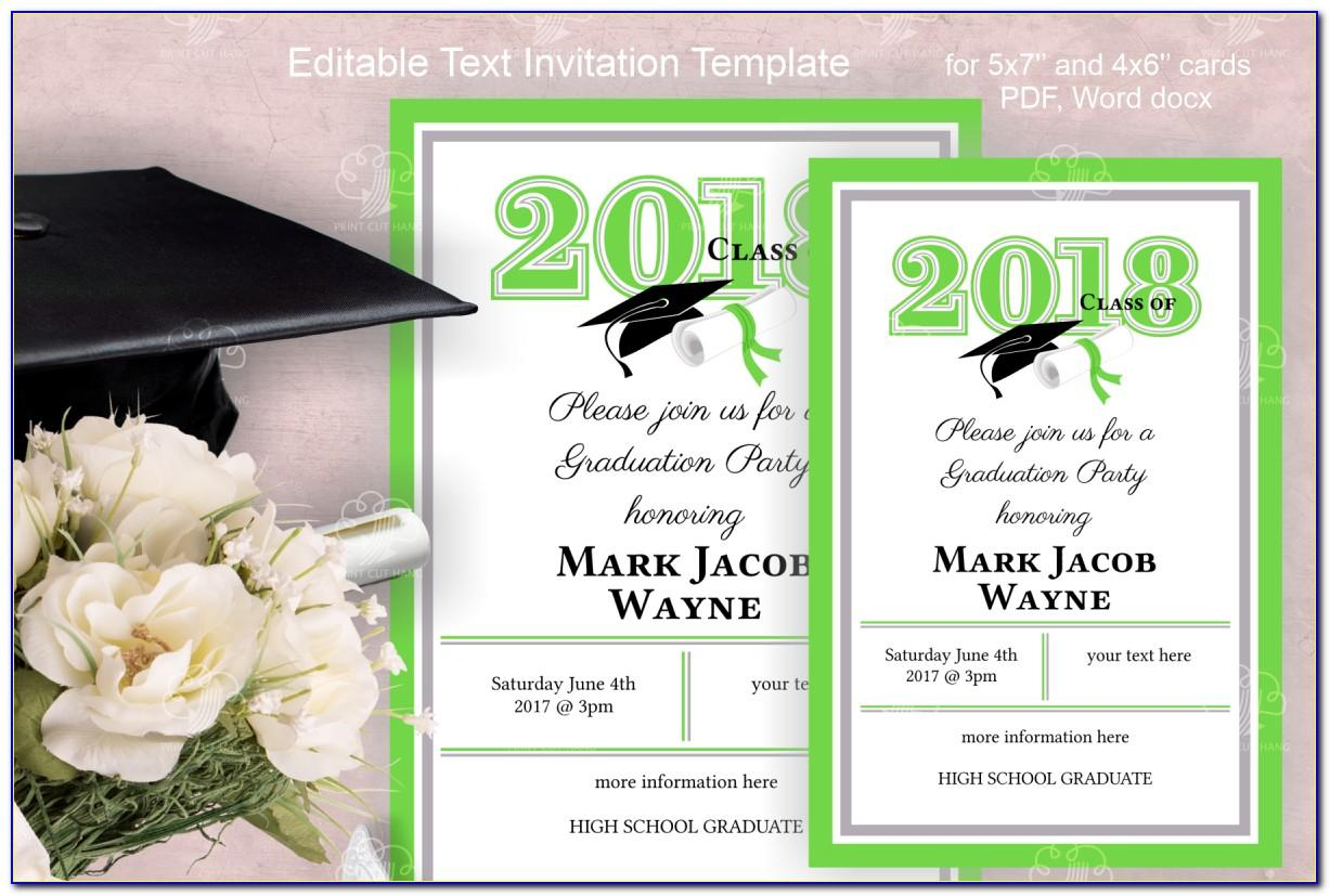Rsvp Card Templates 6 Per Page