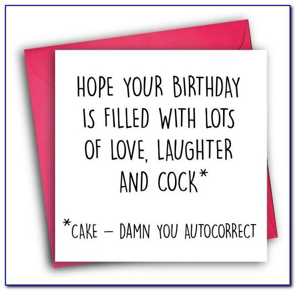Rude Birthday Cards For Dad
