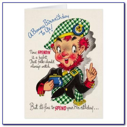 Scottish Birthday Card Images