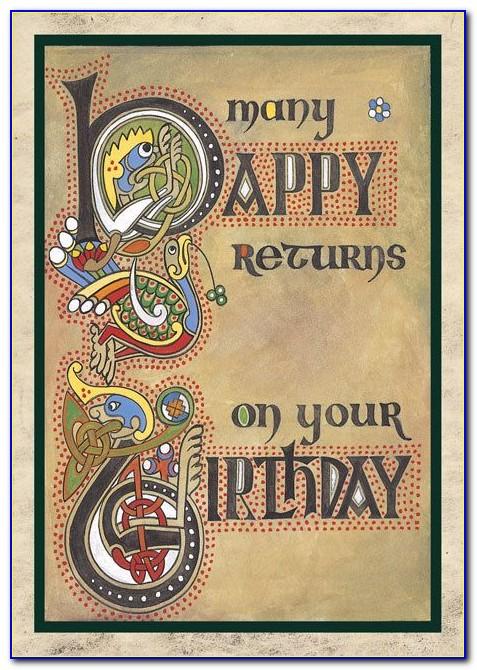 Scottish Gaelic Birthday Cards