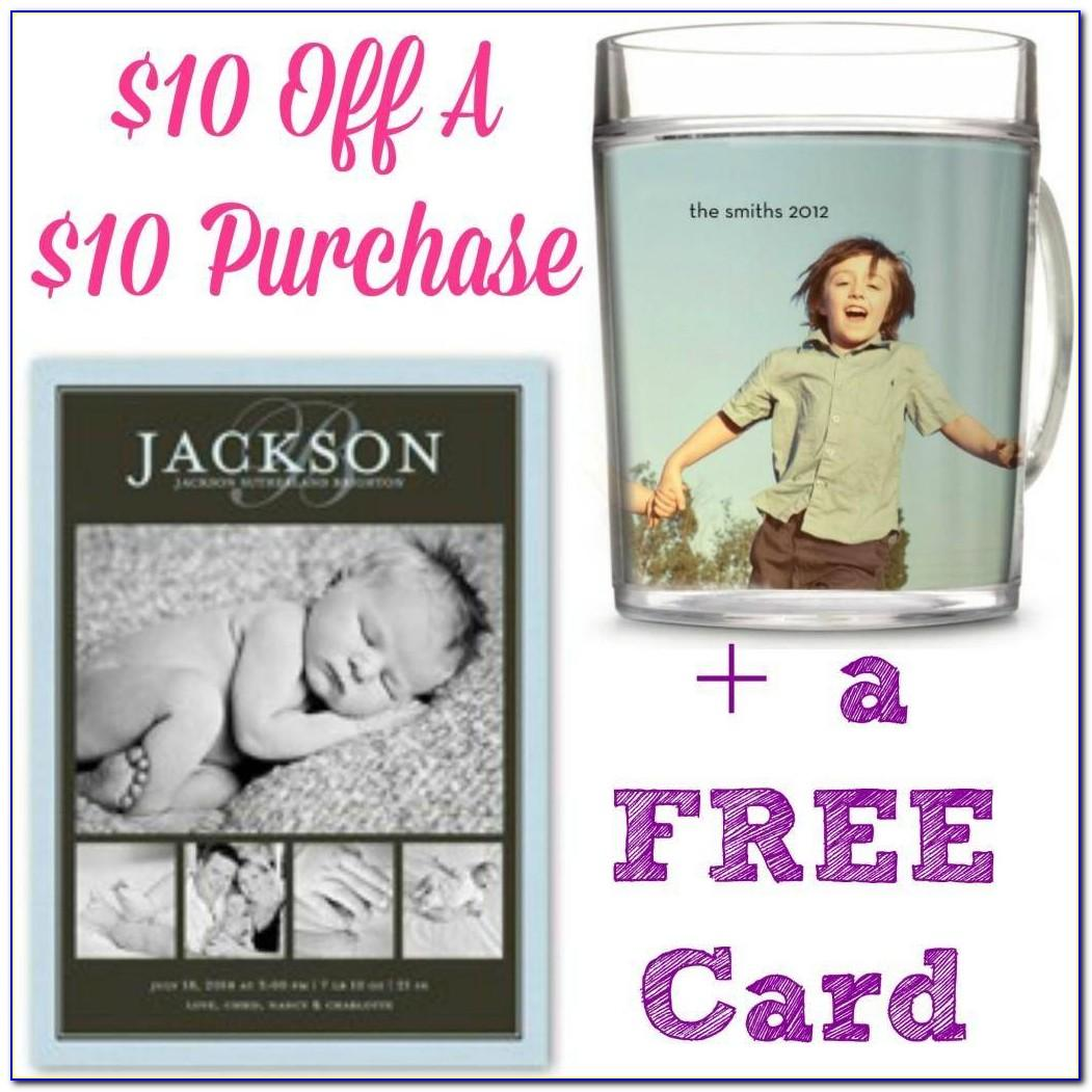 Shutterfly Free Cards Coupon