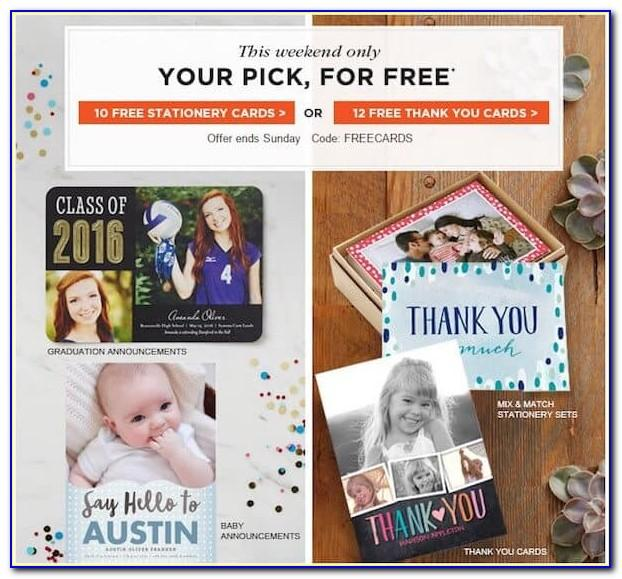 Shutterfly Free Cards Promo Code