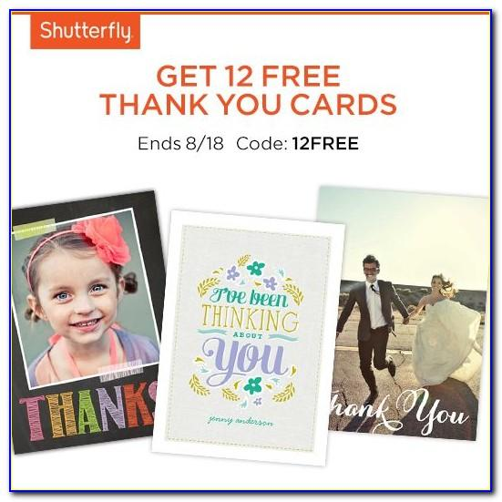 Shutterfly Free Cards Promo