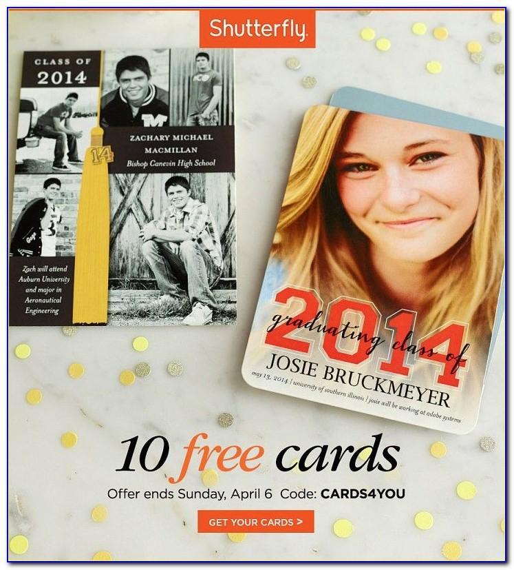 Shutterfly Ten Free Cards