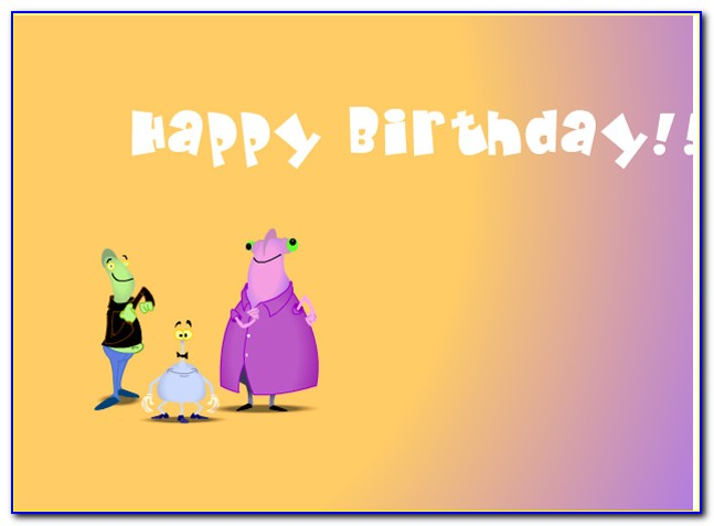 Singing Birthday Cards With Names Free