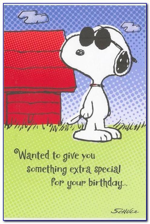 Snoopy Birthday Cards Online