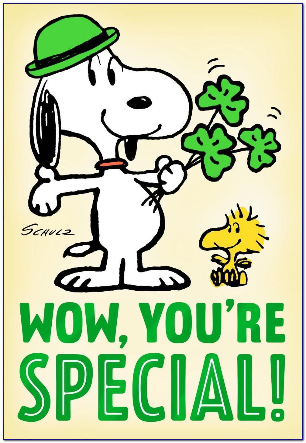 Snoopy Birthday Cards To Print