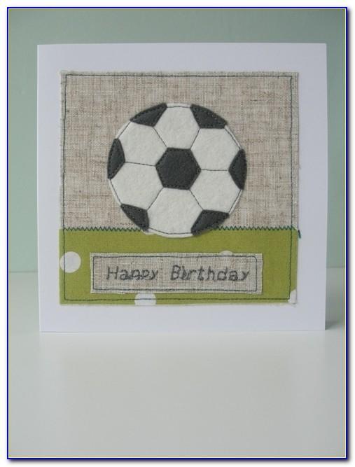 Soccer Birthday Card Diy