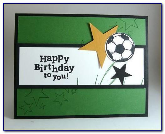 Soccer Birthday Card Printable