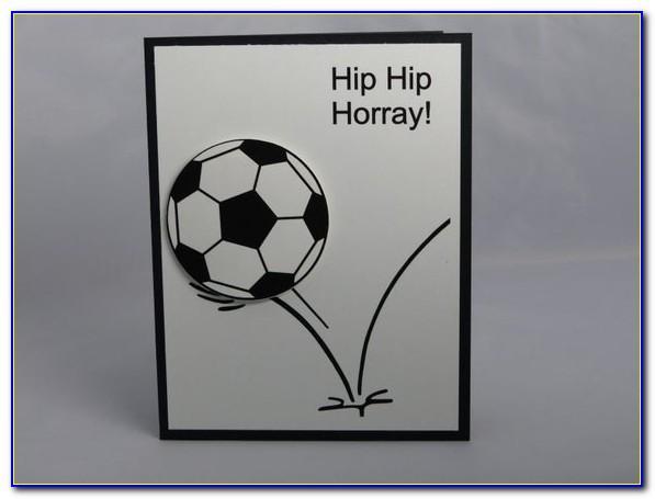 Soccer Birthday Cards Free