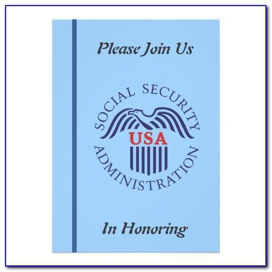 Social Security Card Template Fillable Pdf
