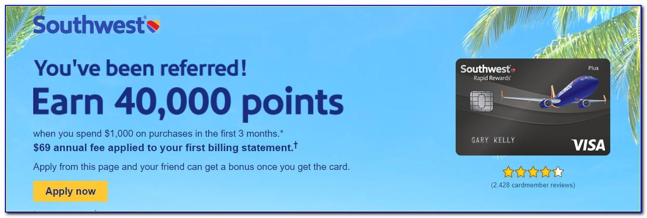 Southwest Business Card Referral