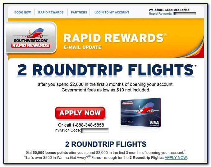 Southwest Business Credit Card Application