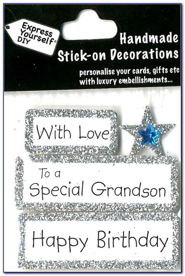 Special Grandson 18th Birthday Card