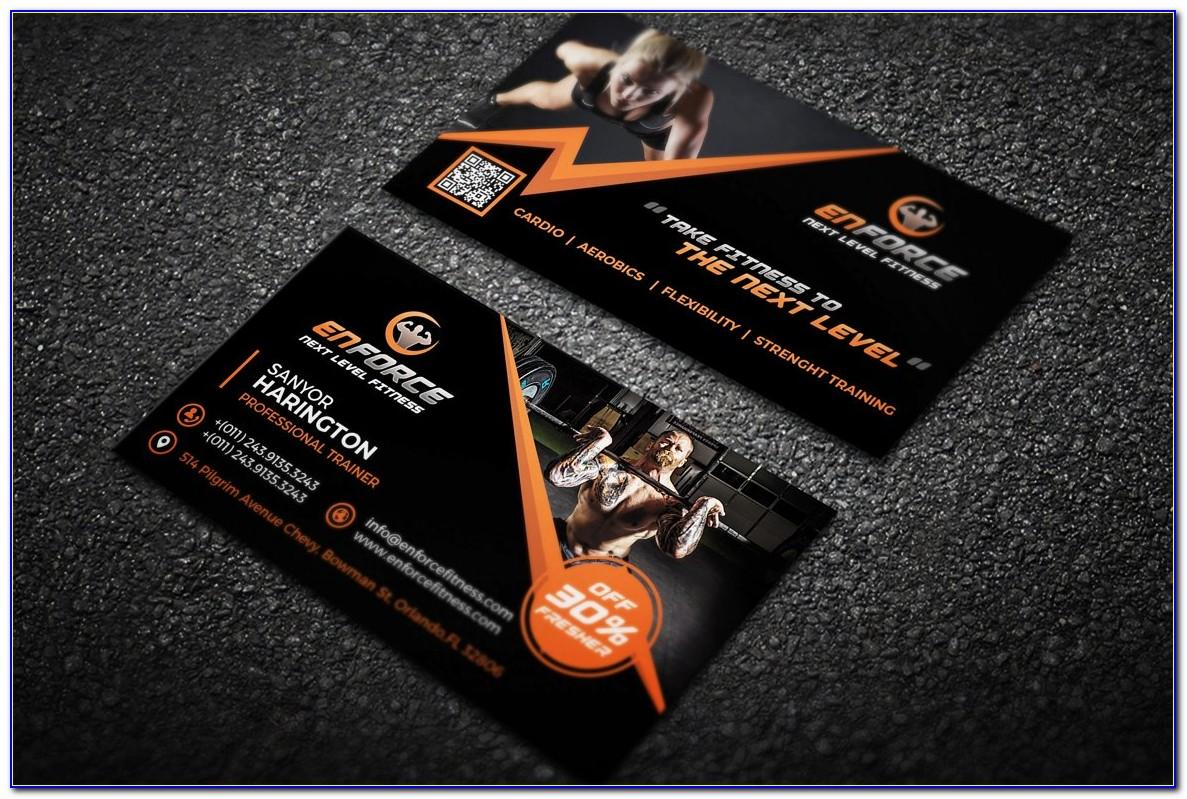 Sports Business Cards Templates