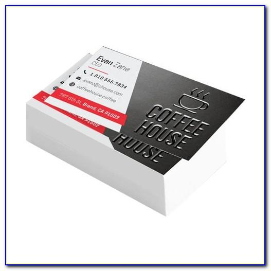 Spot Uv Business Card Mockup Free Download