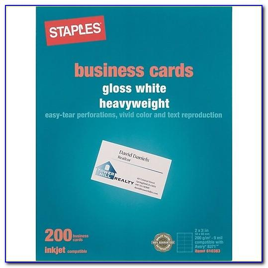Staples Upload Business Card