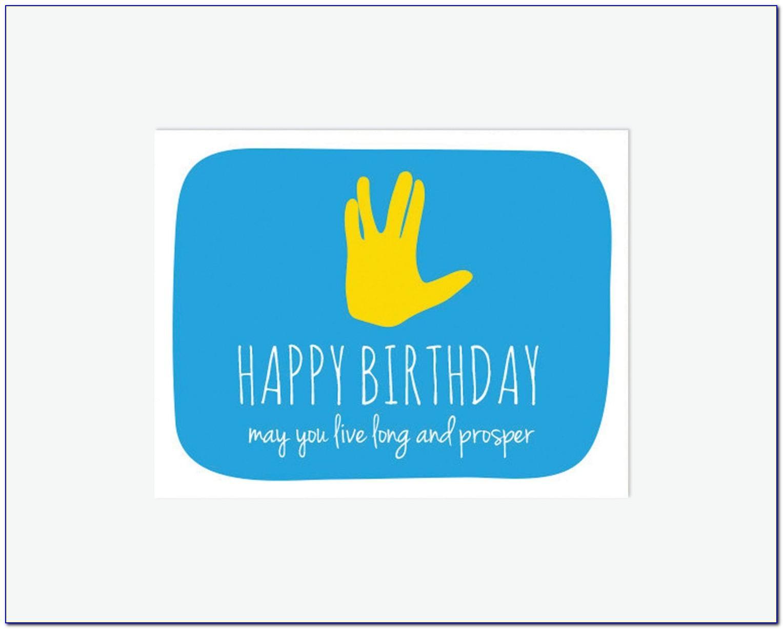 Star Trek Birthday Cards Free