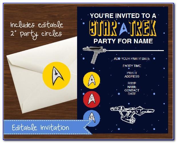Star Trek Birthday Ecard