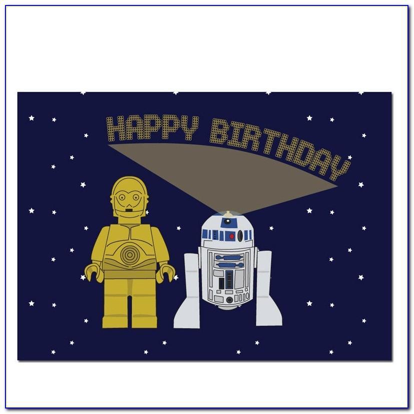 Star Wars Birthday Cards Printable Free