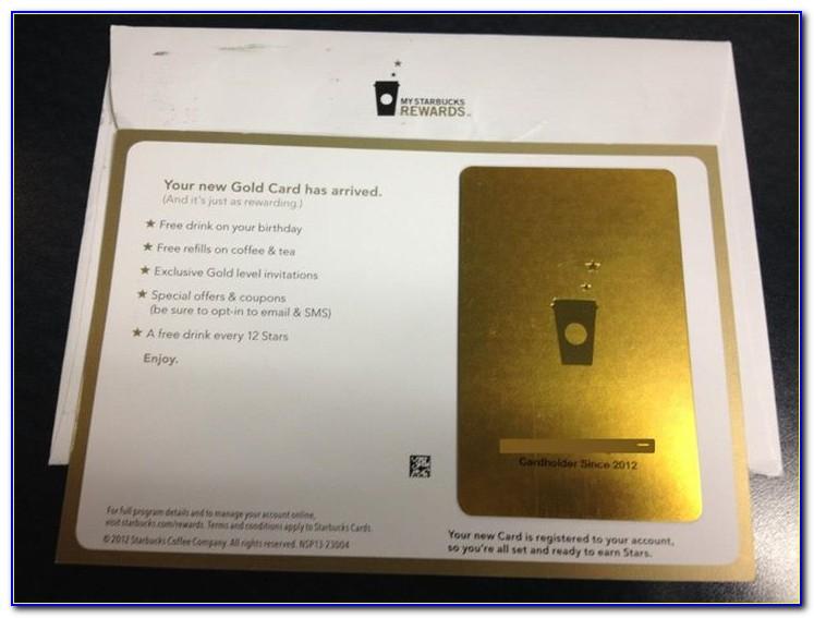 Starbucks Gold Card Free Iced Coffee Refills