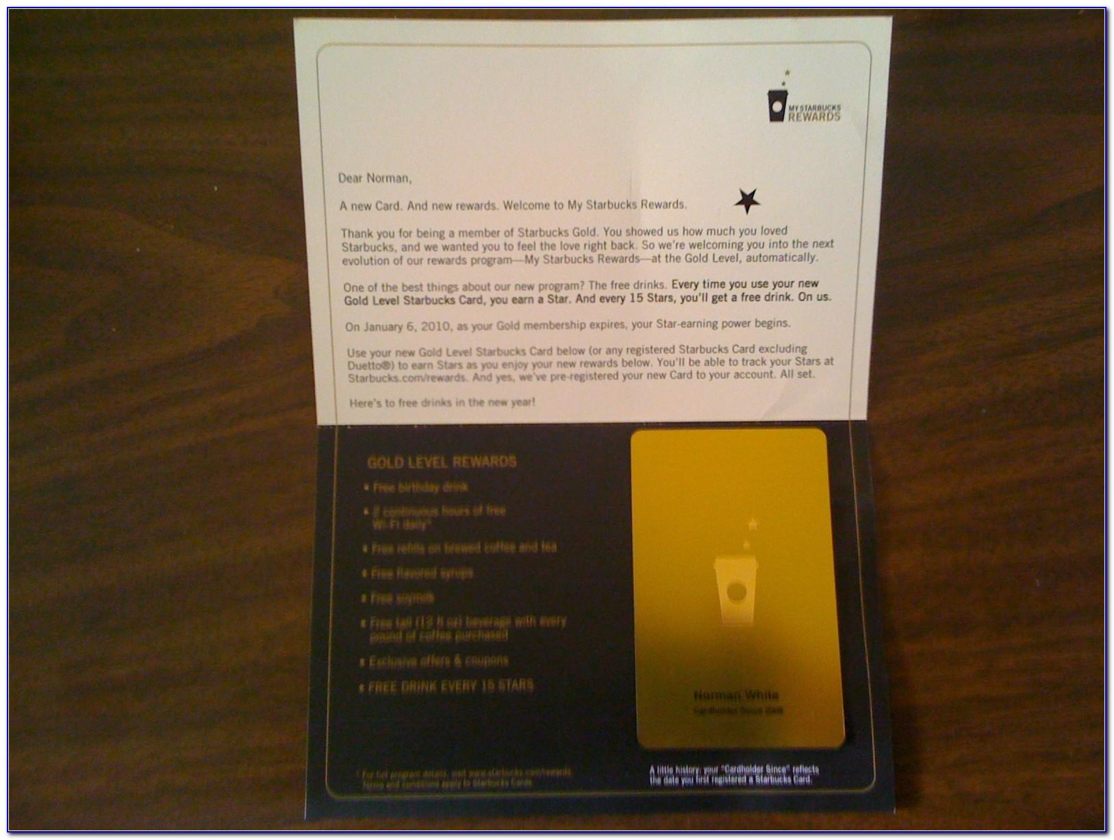 Starbucks Gold Card Free Refill Rules