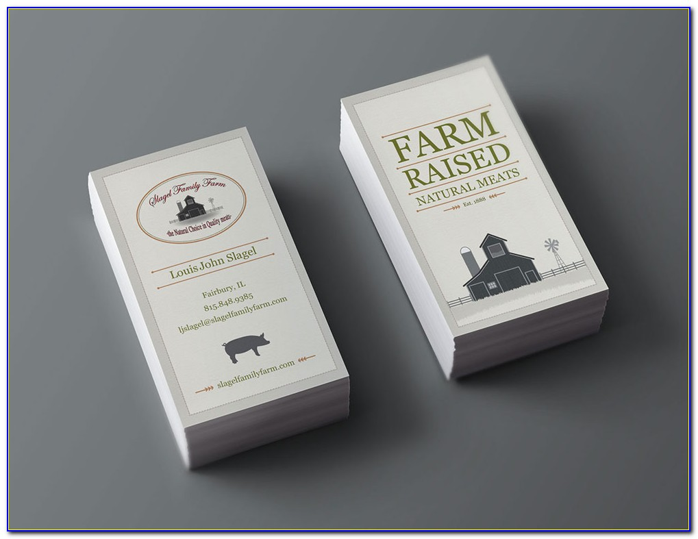 State Farm Business Card Template