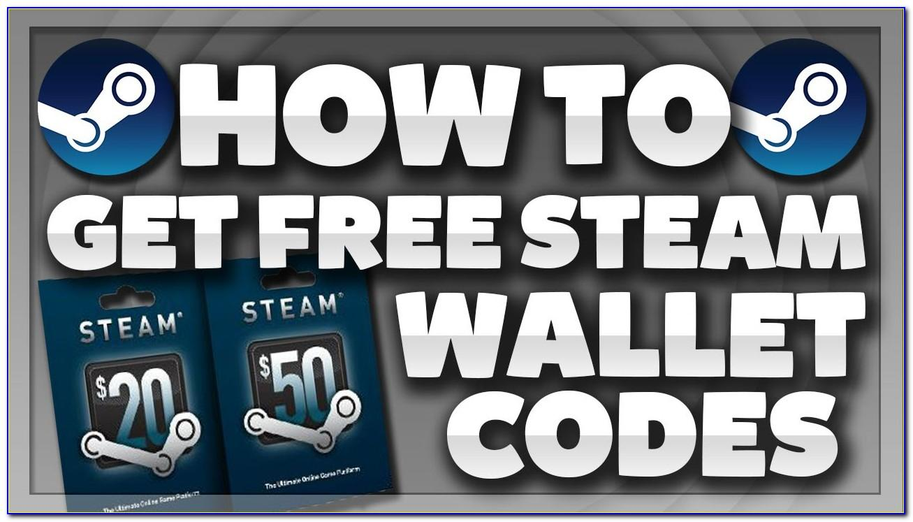 Steam Wallet Gift Card Free
