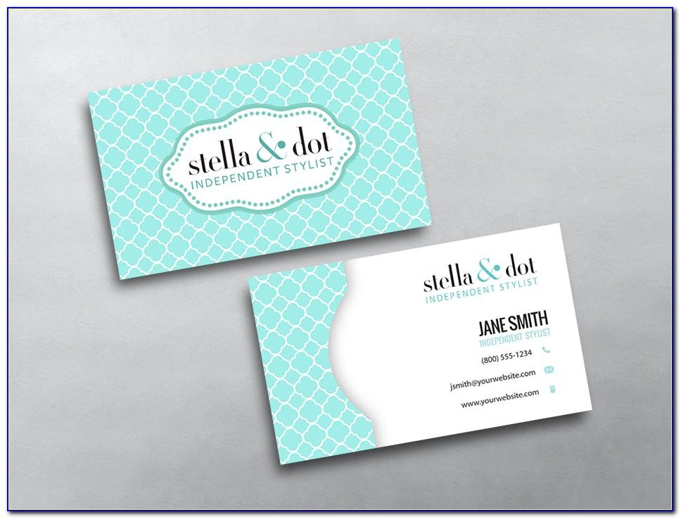 Stella And Dot Business Card Template