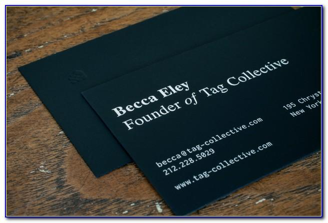 Tri Fold Brochure With Business Card Slot
