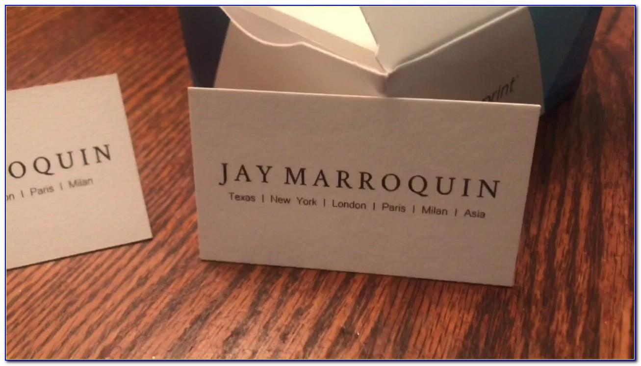 Ultra Thick Business Cards Vistaprint