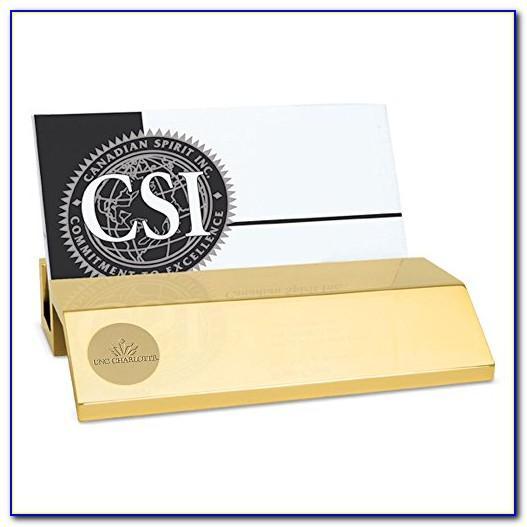 Unc Business Card Holder
