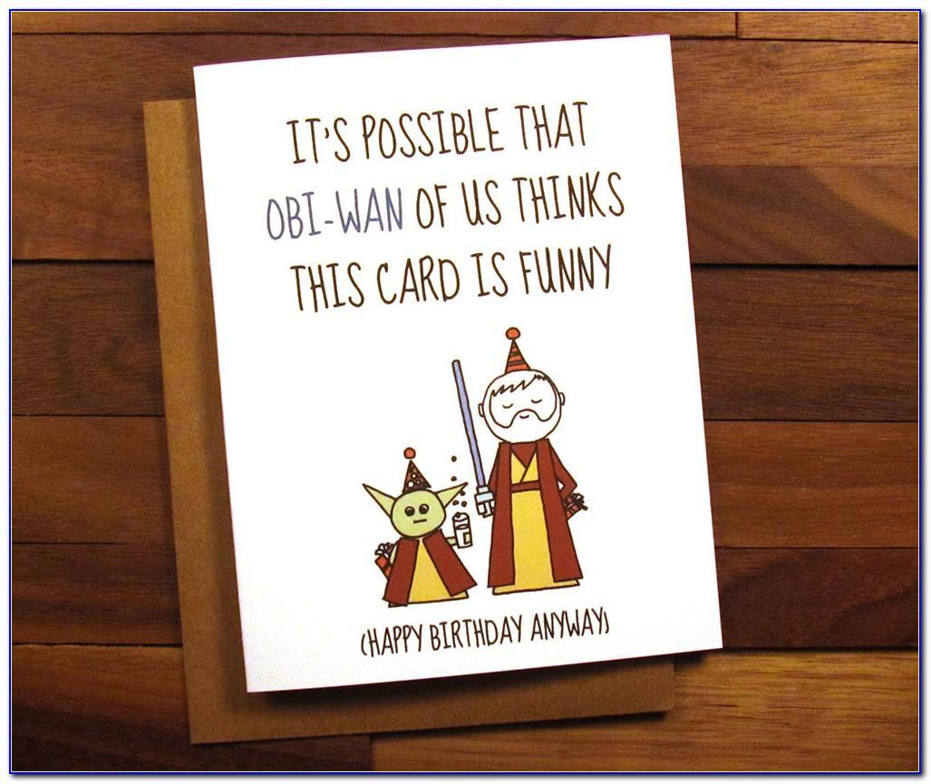 Unicorn Birthday Card Print