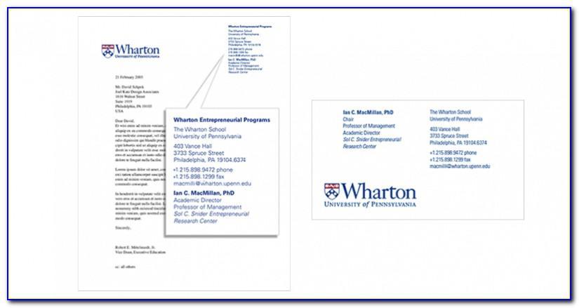 Upenn Business Card Holder