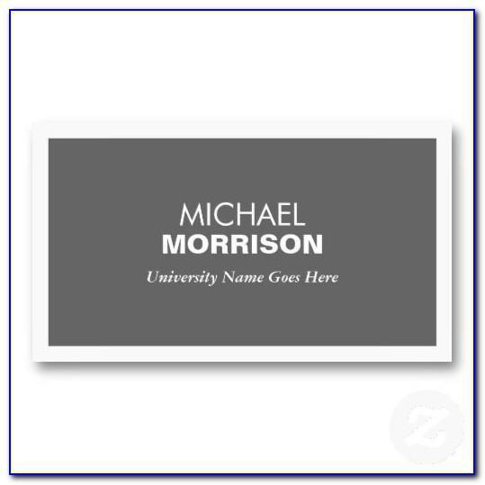Upload Business Card Design Vistaprint