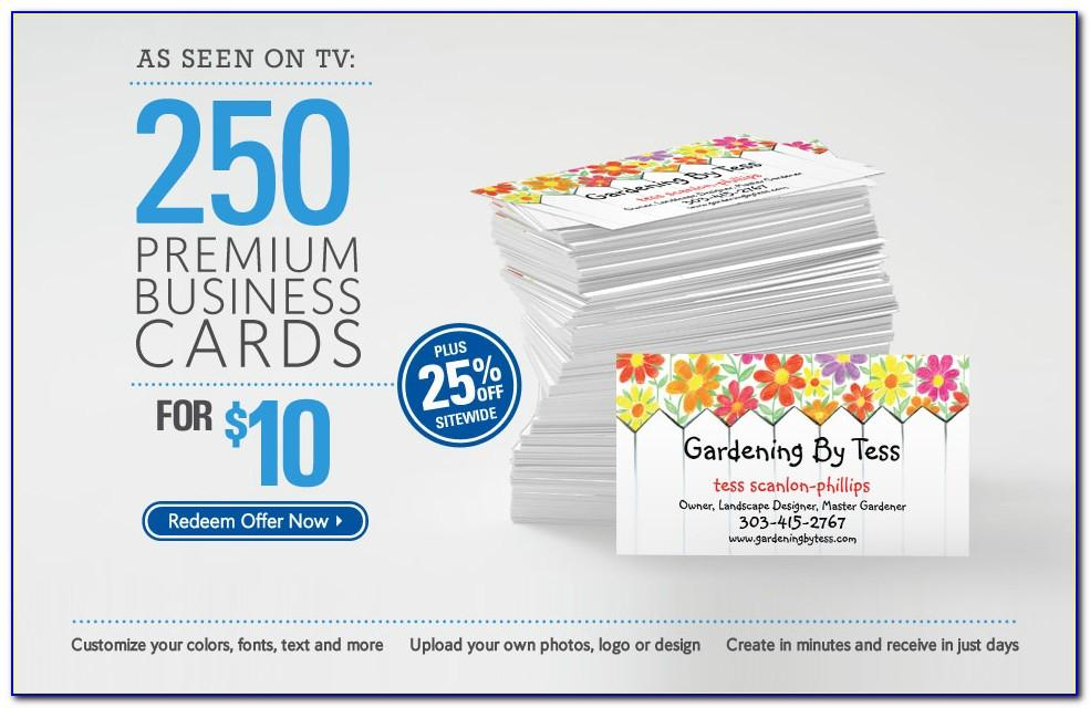 Vistaprint 500 Business Cards For 9.99 Promo Code