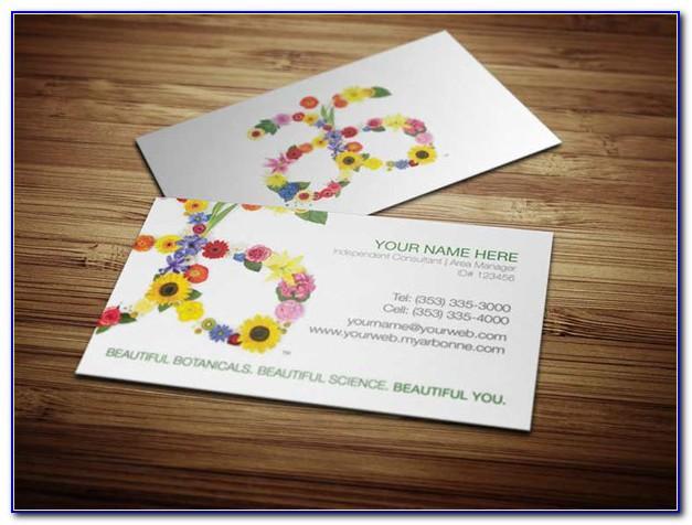Vistaprint Business Card Bleed Size