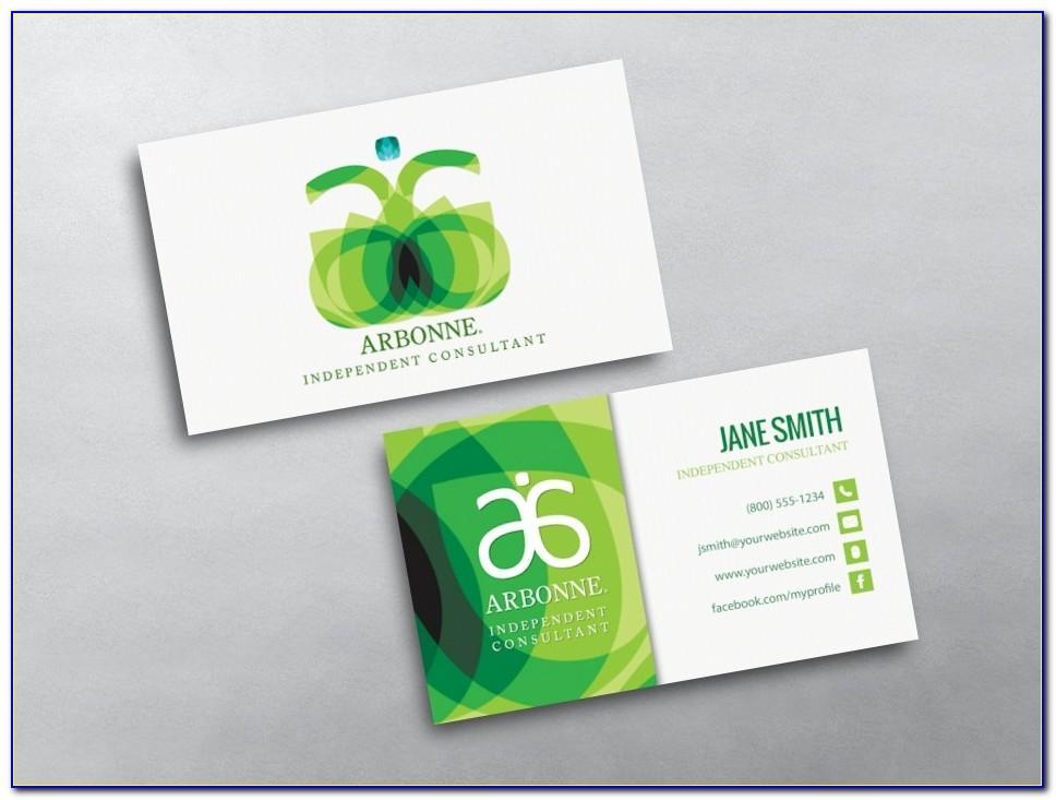 Vistaprint Business Card Full Bleed Size