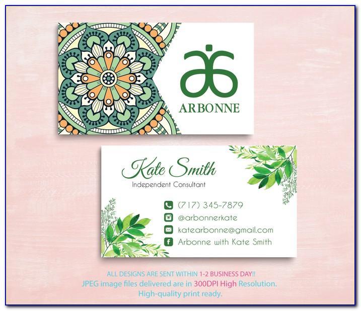 Vistaprint Business Card Template Adobe Illustrator