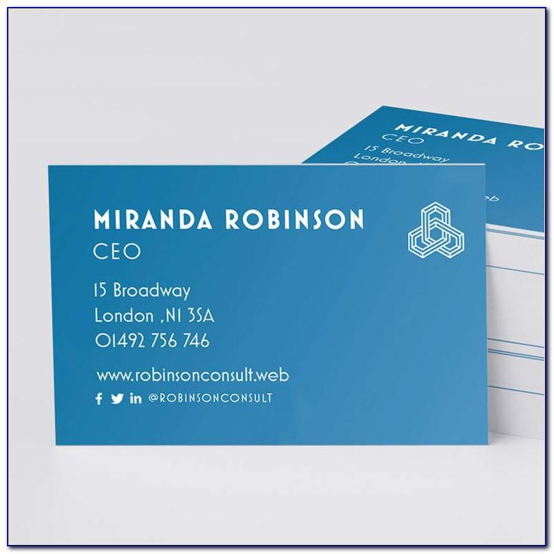 Vistaprint Business Cards Standard Vs Premium