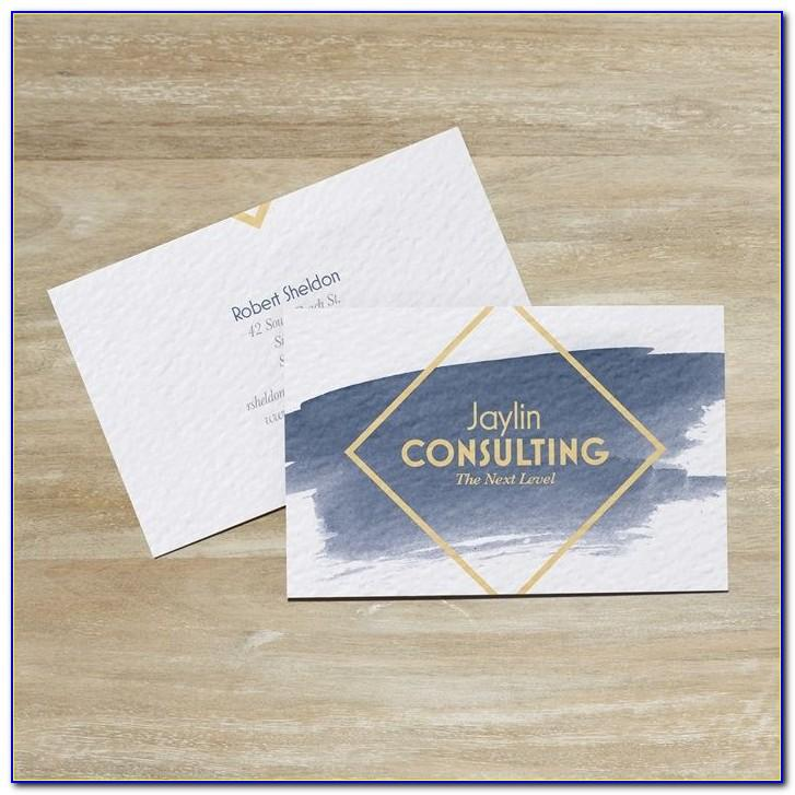 Vistaprint Double Sided Business Cards