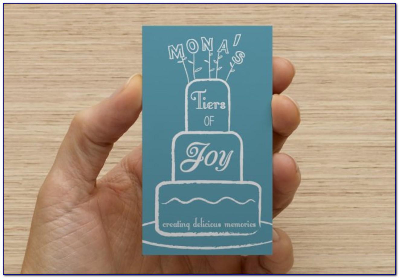 Vistaprint Embossed Business Cards