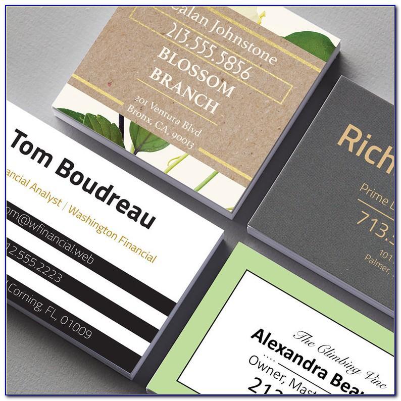 Vistaprint Glossy Business Cards