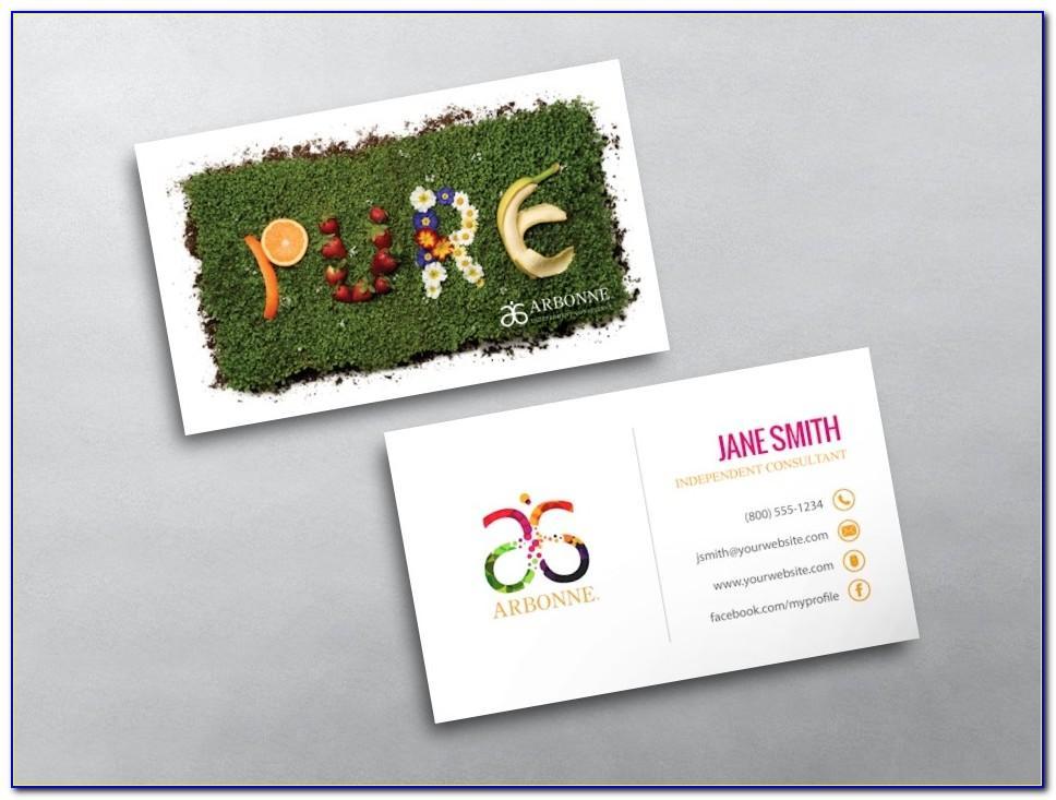 Vistaprint Hair Salon Business Cards