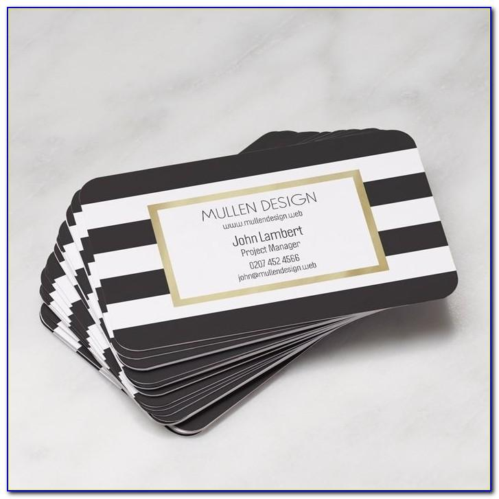 Vistaprint Rounded Corner Business Cards