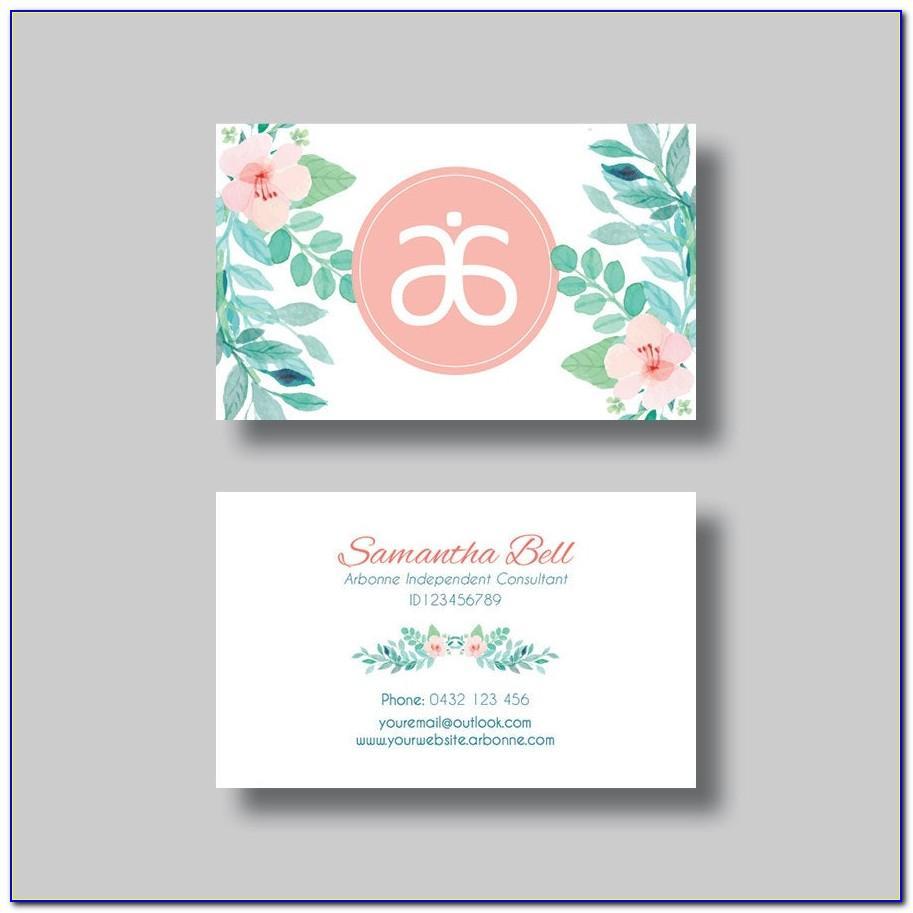Vistaprint Salon Business Cards