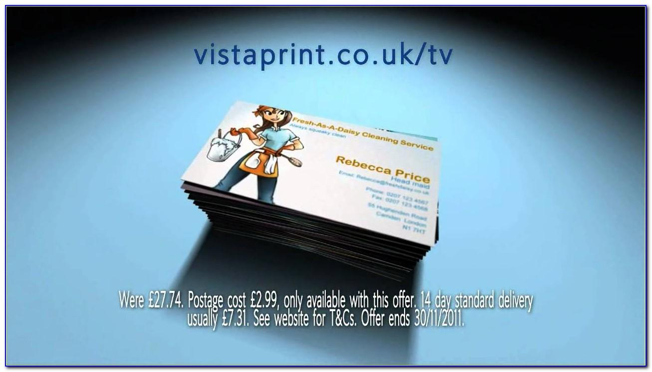 Vistaprint Two Sided Business Cards